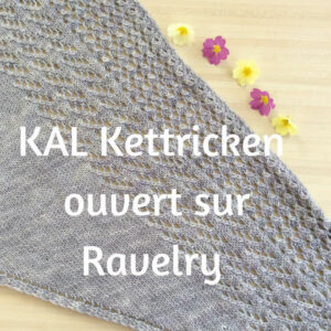 On tricote Kettricken ensemble ?