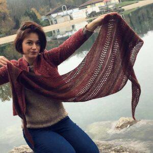 Des idées de fils pour tricoter Flétrybois avec les versions des testeuses