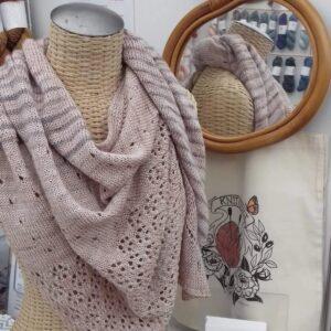 Des châles inspirants pour tricoter votre Danio