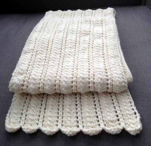 Tricoter une écharpe bien chaude pour l'hiver (tuto)