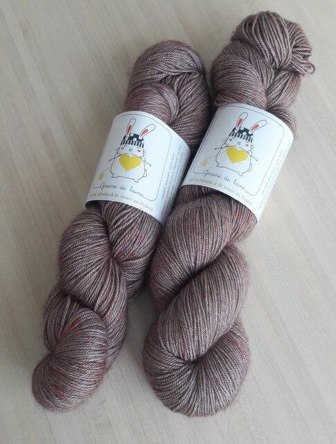 écheveaux de lobélia graine de laine