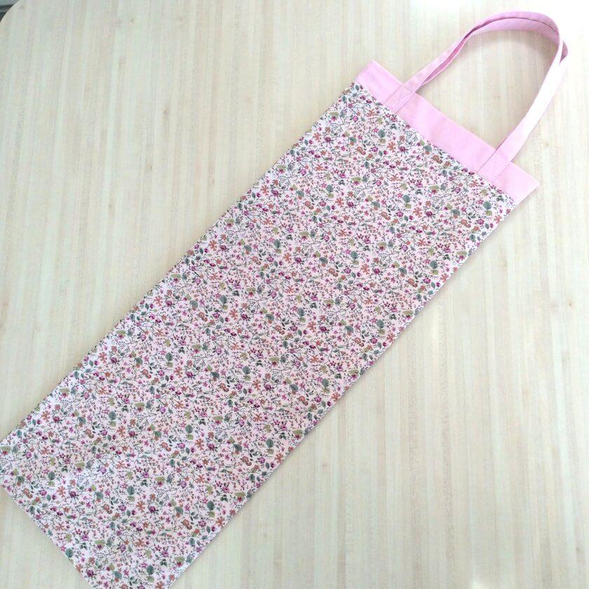 sac à baguettes rose