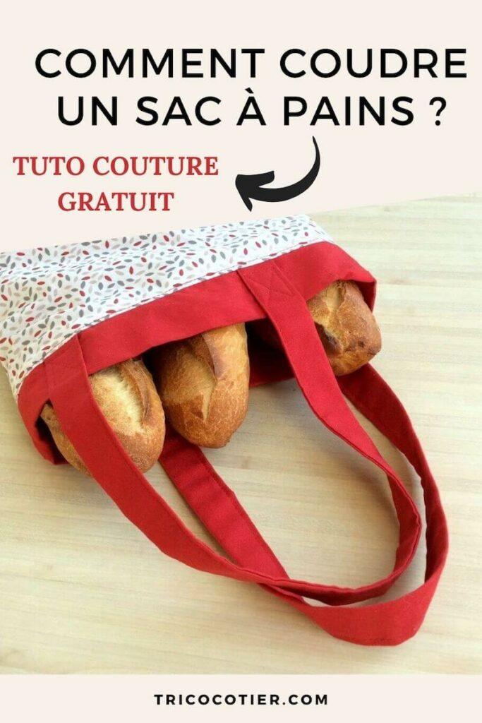 Tutoriel pour coudre un sac à pains zéro déchet en tissu. Patron de couture détaillée en photos. Un modèle joli et facile.