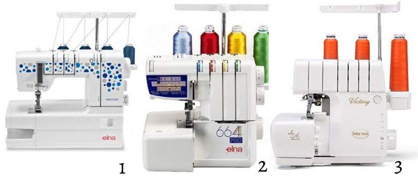 machines à coudre recouvreuses et surjeteuses idées cadeaux couture