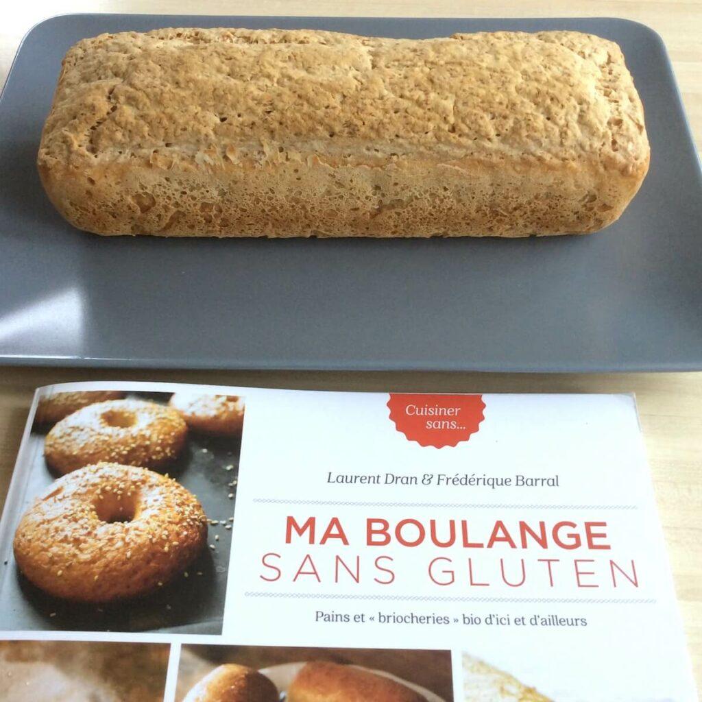 recette du pain sans gluten et livre ma boulange sans gluten