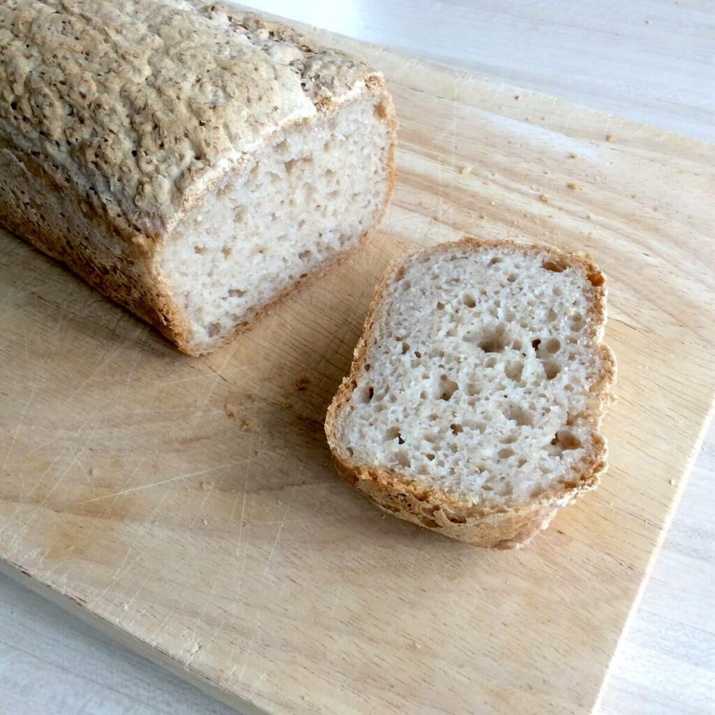 tranche de pain de teff