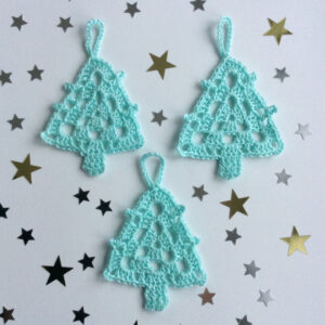 sapin au crochet tutoriel crochet
