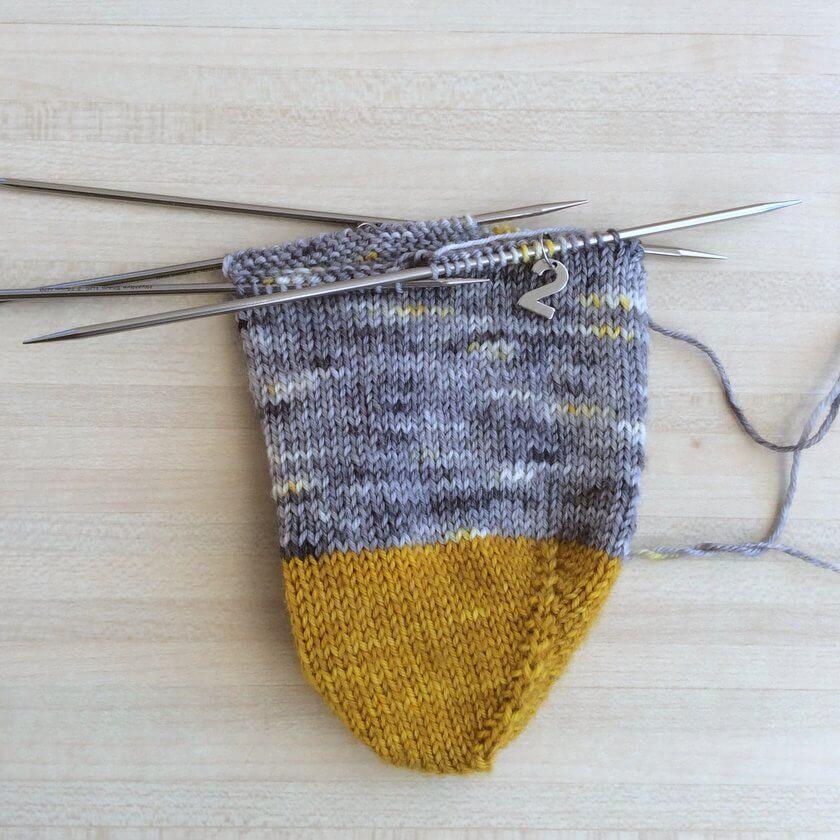 anneaux marqueurs pour chaussettes aiguille 2