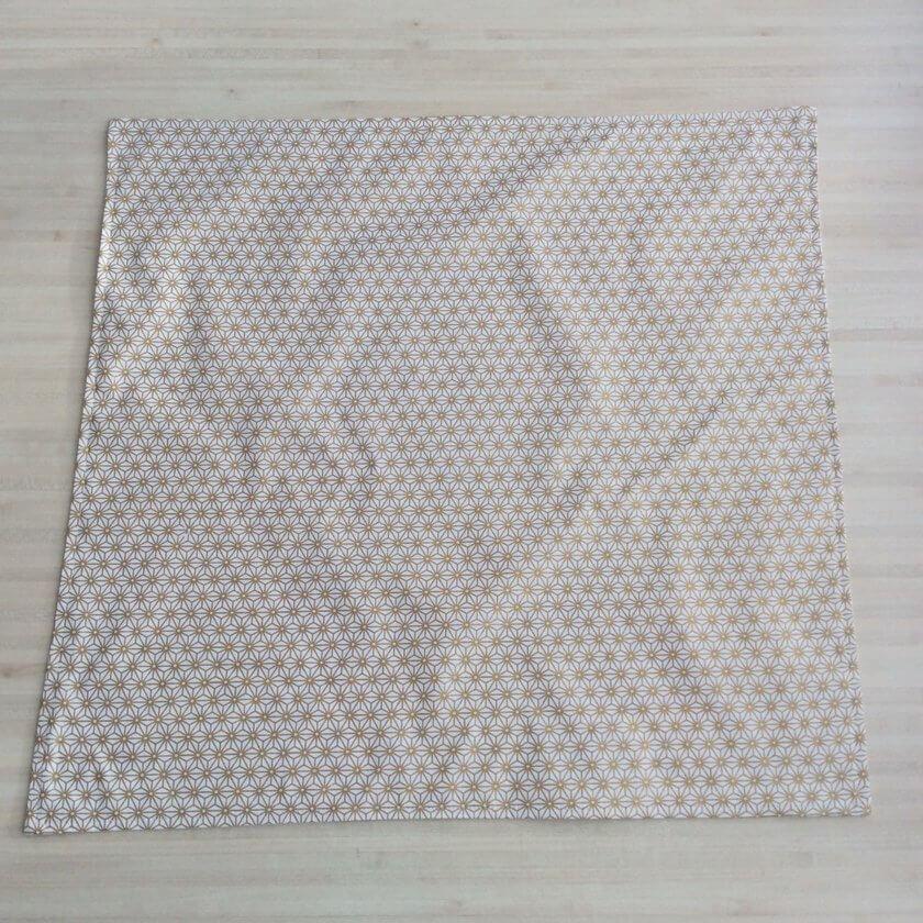 Tuto couture débutant Furoshiki tissu japonais