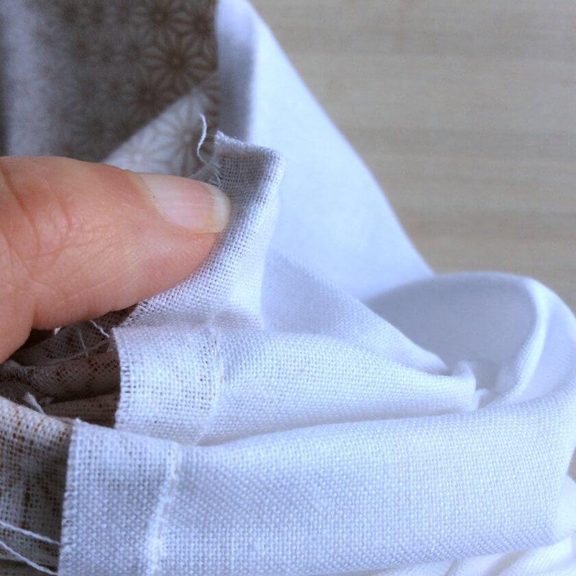 méthode pour avoir des coins carrées en couture
