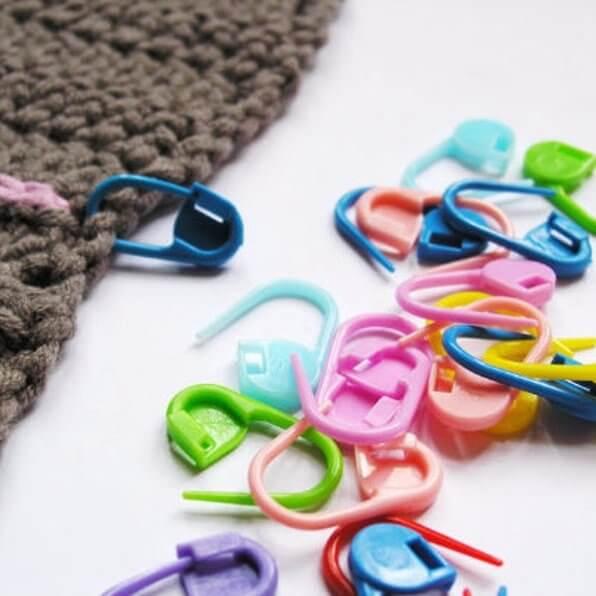 anneaux marqueurs en plastique