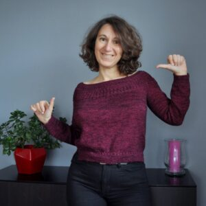 Pull femme en fingering – Yocco Jumper