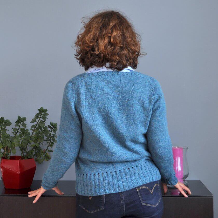 Pull tricot femme Báirbre