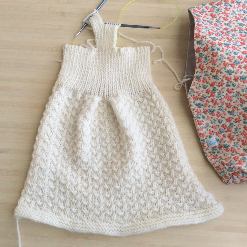 robe tricot laine