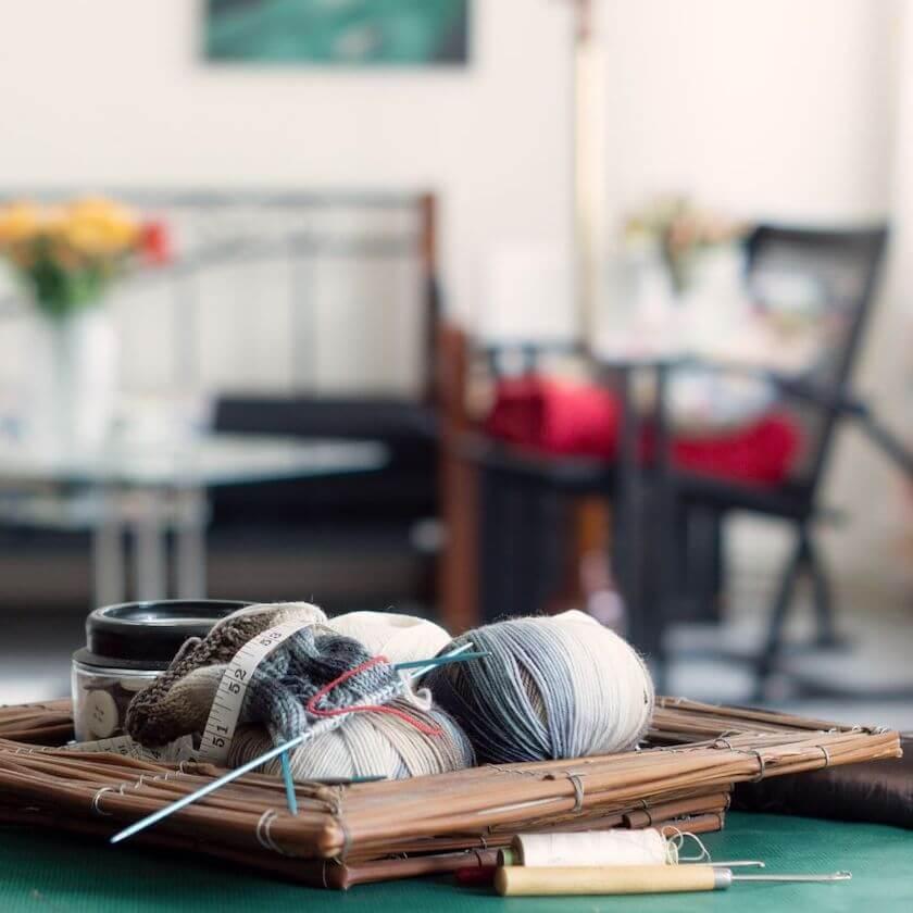 tricoter et méditer