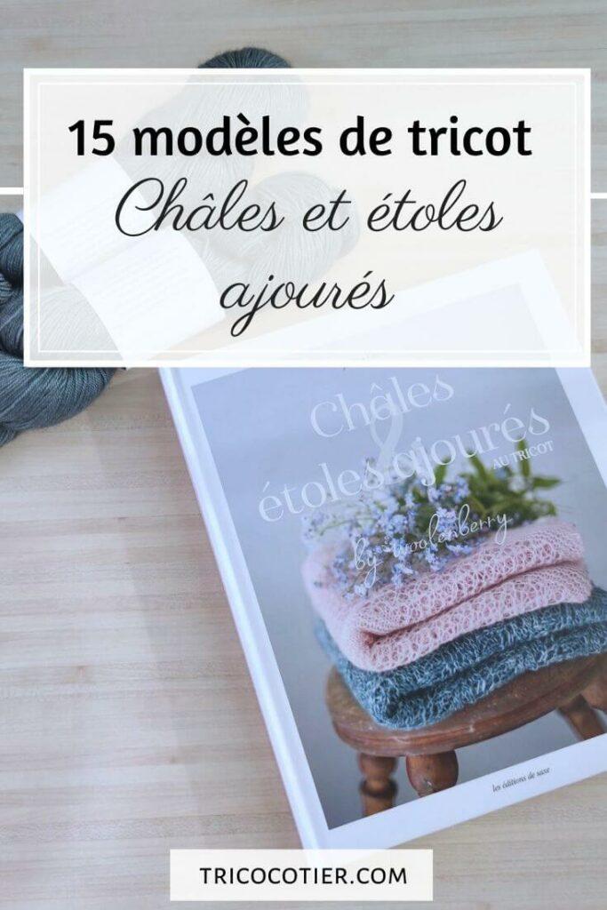 livre chales et etoles tricot