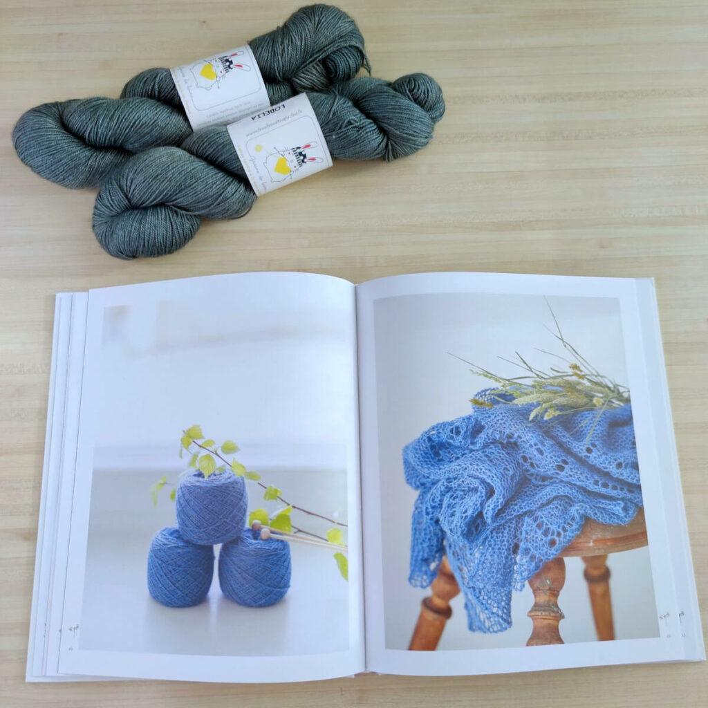 livre chales et etoles au tricot
