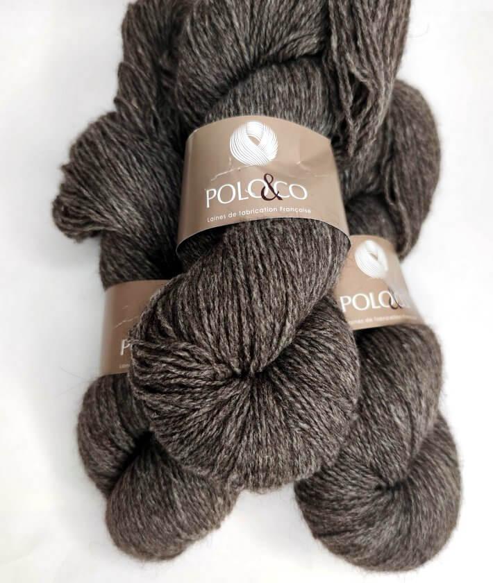écheveaux de laine naturelle Polo et cie Yack et mérinos