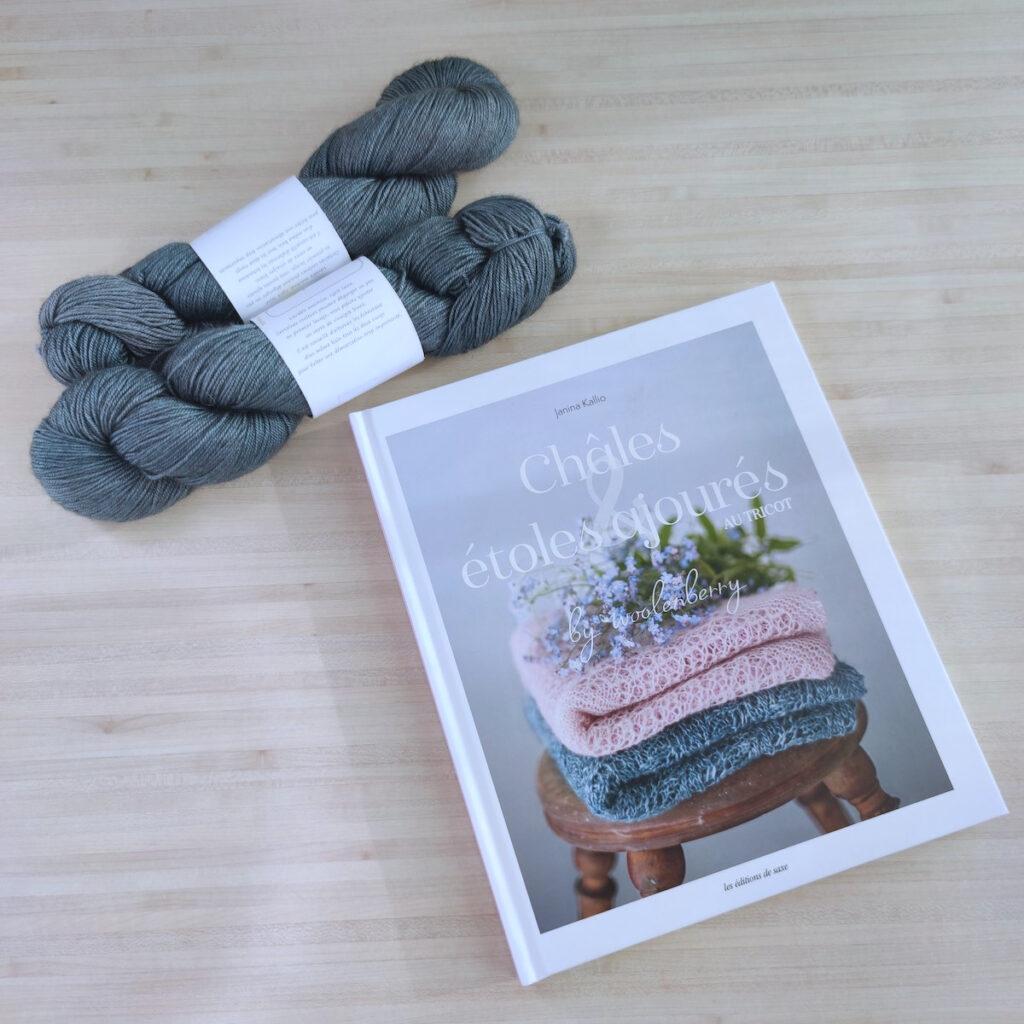 livre chales et étoles au tricot