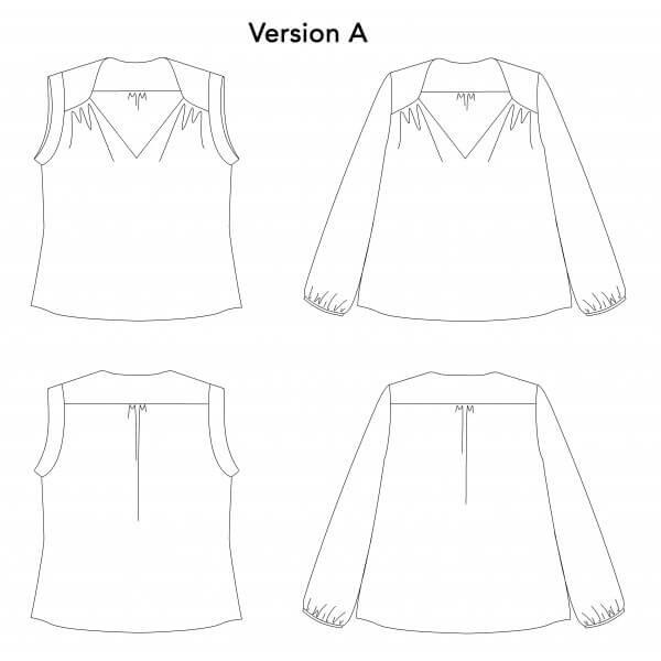 blouse suun p&m patterns