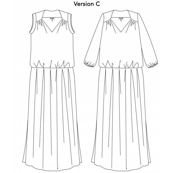 robe longue p&m patterns