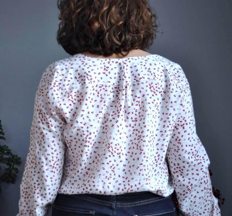 blouse Suun de dos avec une jolie viscose