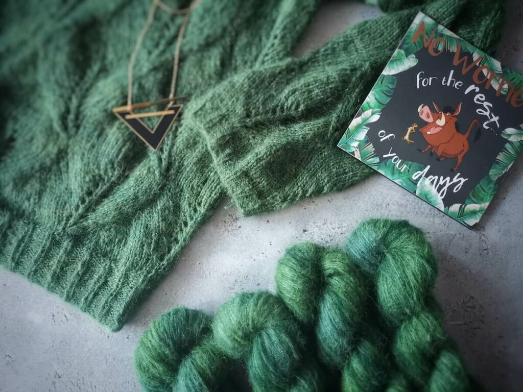 laine Timon et pull October Sweater