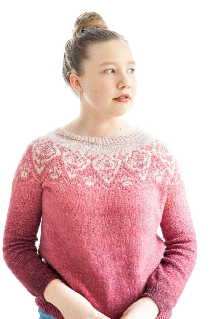 Pull Love Affair tricot femme ChristalLK Mon coup de cœur pour le printemps
