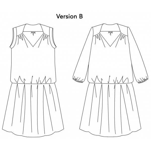 robe courte p&m patterns