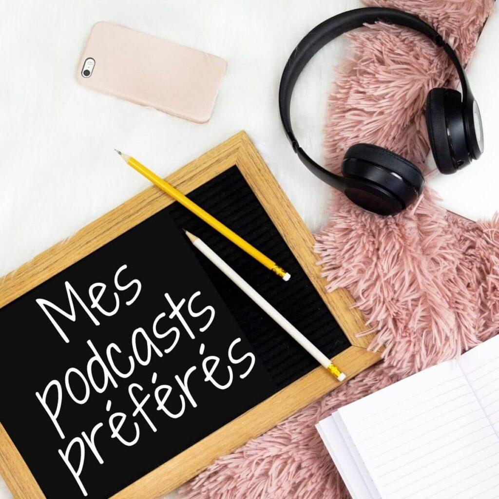 des idées de podcast à écouter en tricotant