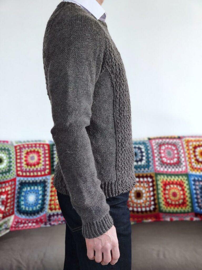 pull pour homme en laine