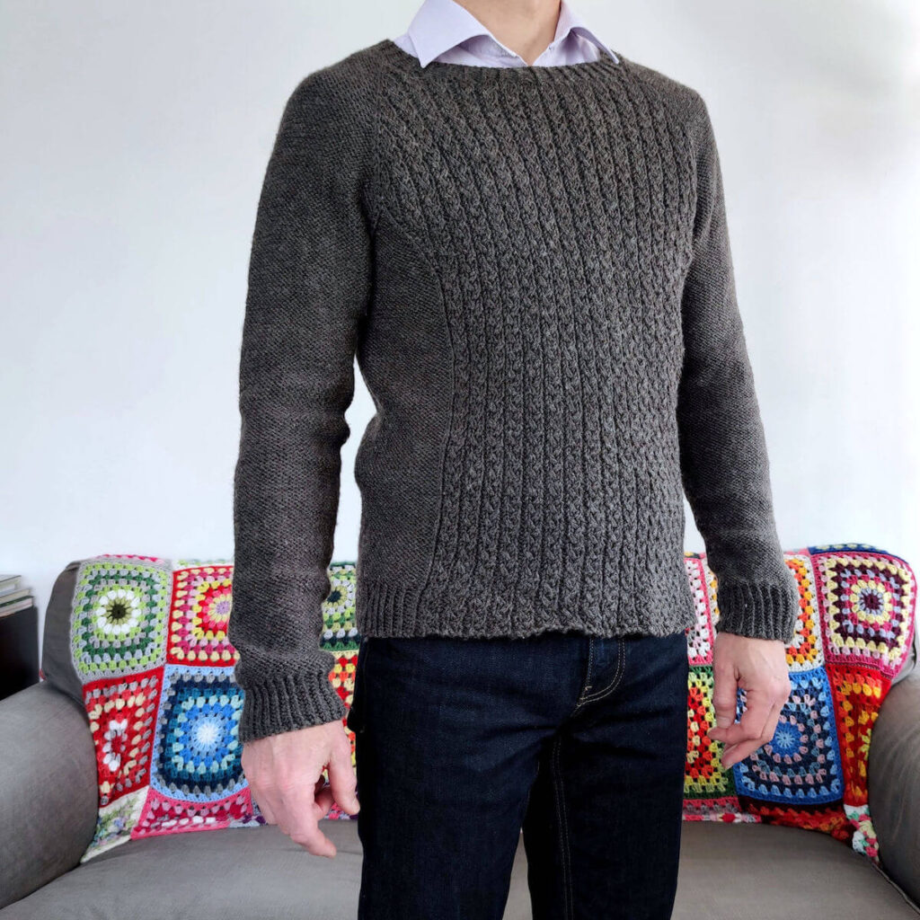 Pull tricot homme Evo His