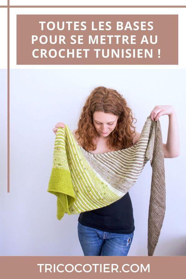 Découvrir et apprendre la méthode du crochet tunisien avec de nombreuses informations. Choisir ses crochets, la laine, les points pour quels types de mailles et patrons.