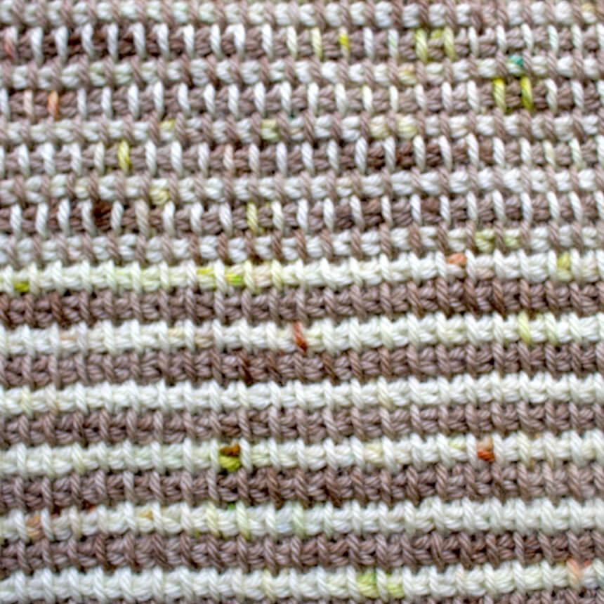 exemples de mailles au crochet tunisien